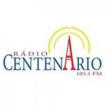 Logo da emissora Rádio Centenário 105.1 FM