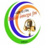 Logo da emissora Rádio Ômega 102.5 FM