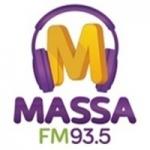 Logo da emissora Rádio Massa 93.5 FM