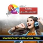 Logo da emissora Rádio Gospel Quadrangular