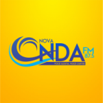 Logo da emissora Rádio Nova Onda 87.5 FM