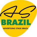 Logo da emissora Rádio AS Brazil