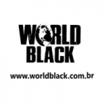 Logo da emissora Rádio World Black