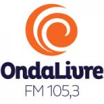Logo da emissora Rádio Onda Livre 105.3 FM