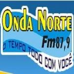 Logo da emissora Rádio Onda Norte 87.9 FM