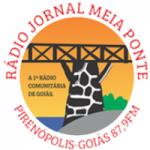 Logo da emissora Rádio Jornal Meia Ponte FM