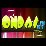 Logo da emissora Rádio Ondas 87.9 FM