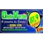 Logo da emissora Rádio Onda Verde 93.1 FM