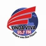 Logo da emissora Rádio Onda Viva 95.7 FM