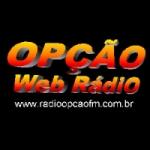 Logo da emissora Rádio Opção 102.5 FM
