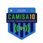 Logo da emissora Rádio Camisa 10