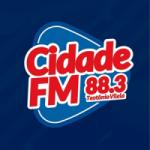 Logo da emissora Rádio Cidade 88.3 FM