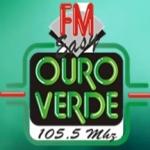 Logo da emissora Rádio Ouro Verde 105.5 FM