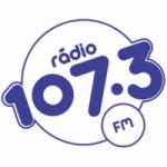 Logo da emissora Rádio Ouro 107.3 FM