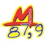 Logo da emissora Rádio Metrópole 87.9 FM