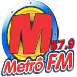 Logo da emissora Radio Metrô 87.9 FM