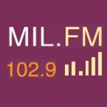 Logo da emissora Rádio Mil 102.9 FM