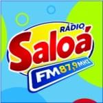 Logo da emissora Rádio Saloá 87.9 FM