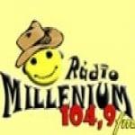 Logo da emissora Rádio Millenium 104.9 FM