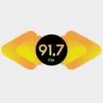 Logo da emissora Rádio Paiquerê 91.7 FM