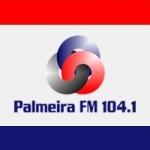 Logo da emissora Rádio Palmeira 104.1 FM