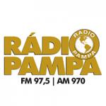 Logo da emissora Rádio Pampa 97.5 FM