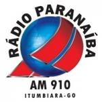 Logo da emissora Rádio Paranaíba 910 AM