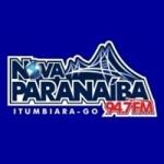 Logo da emissora Rádio Nova Paranaíba 94.7 FM