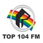 Logo da emissora Rádio Top 104.9 FM