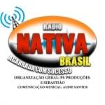 Logo da emissora Rádio Nativa Brasil