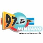 Logo da emissora Rádio Minuano 97.5 FM