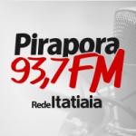 Logo da emissora Rádio Pirapora 93.7 FM
