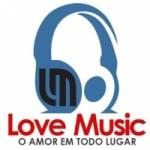 Logo da emissora Rádio Love Music