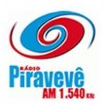 Logo da emissora Rádio Piravevê 1540 AM