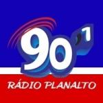 Logo da emissora Rádio Planalto 90.1 FM