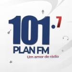 Logo da emissora Rádio Planalto 101.7 FM