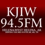 Logo da emissora Radio KJIW 94.5 FM
