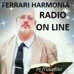 Logo da emissora Rádio Ferrari Harmonia