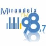 Logo da emissora Rádio Mirandela 98.7 FM