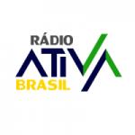 Logo da emissora Rádio Ativa Brasil