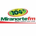Logo da emissora Rádio Miranorte 104.9 FM
