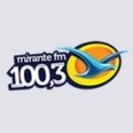 Logo da emissora Rádio Mirante 100.3 FM