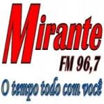 Logo da emissora Rádio Mirante 96.7 FM