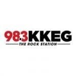 Logo da emissora Radio KKEG 98.3 FM