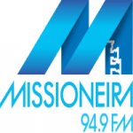 Logo da emissora Rádio Missioneira 94.9 FM