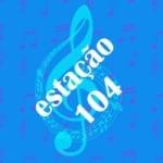 Logo da emissora Rádio Estação 104