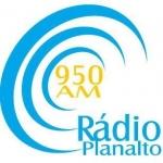 Logo da emissora Rádio Planalto 950 AM
