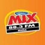 Logo da emissora Rádio Mix 88.3 FM