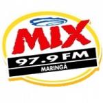 Logo da emissora Rádio Mix 97.9 FM