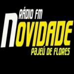 Logo da emissora Rádio Novidade FM